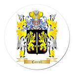 Carroll Round Car Magnet