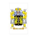 Carroll Sticker (Rectangle 50 pk)