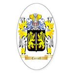 Carroll Sticker (Oval 50 pk)