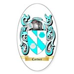 Cartner Sticker (Oval 10 pk)
