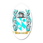 Cartner 35x21 Oval Wall Decal