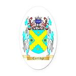 Cartlidge Oval Car Magnet