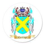 Cartlidge Round Car Magnet