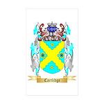 Cartlidge Sticker (Rectangle 50 pk)