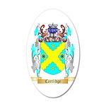 Cartlidge 35x21 Oval Wall Decal
