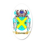 Cartledge Oval Car Magnet