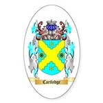 Cartledge Sticker (Oval 50 pk)