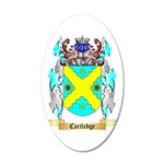 Cartledge 35x21 Oval Wall Decal