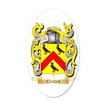 Carthew Oval Car Magnet