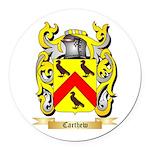 Carthew Round Car Magnet