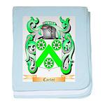 Carter baby blanket