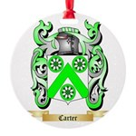Carter Round Ornament