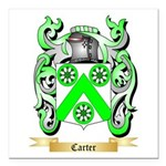 Carter Square Car Magnet 3