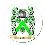 Carter Round Car Magnet