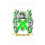 Carter Sticker (Rectangle 10 pk)