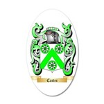 Carter 35x21 Oval Wall Decal