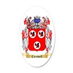 Carswell Oval Car Magnet