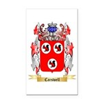 Carswell Rectangle Car Magnet