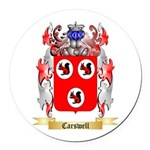 Carswell Round Car Magnet