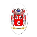 Carswell 35x21 Oval Wall Decal