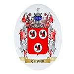 Carswell Ornament (Oval)
