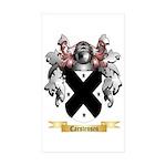 Carstensen Sticker (Rectangle 50 pk)