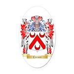 Carson Oval Car Magnet