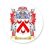 Carson Round Car Magnet