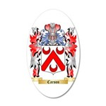Carson 35x21 Oval Wall Decal