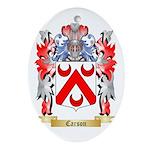 Carson Ornament (Oval)