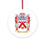 Carson Ornament (Round)