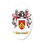 Carruthers Oval Car Magnet