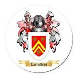 Carruthers Round Car Magnet
