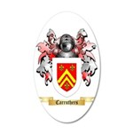 Carruthers 35x21 Oval Wall Decal