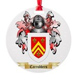 Carrudders Round Ornament