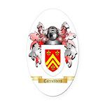 Carrudders Oval Car Magnet