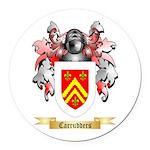 Carrudders Round Car Magnet