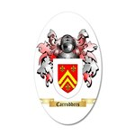 Carrudders 35x21 Oval Wall Decal