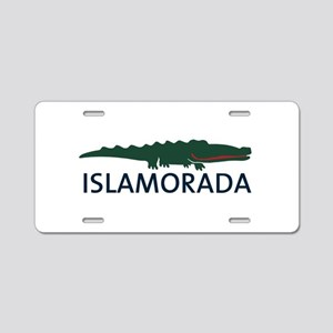 Islamorada - Alligator Design. Aluminum License Pl