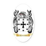 Caruccio Oval Car Magnet