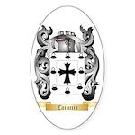 Caruccio Sticker (Oval 10 pk)
