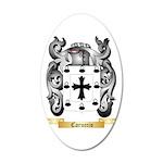 Caruccio 20x12 Oval Wall Decal