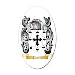 Caruccio 35x21 Oval Wall Decal