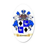 Carrozza Oval Car Magnet