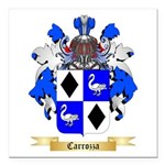 Carrozza Square Car Magnet 3