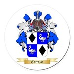 Carrozza Round Car Magnet