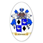 Carrozza Sticker (Oval)