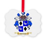 Carrozza Picture Ornament