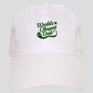 World's Okayest Dad Green Cap