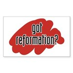 reform yourself Rectangle Sticker
